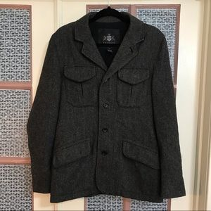Men's Express wool jacket size small